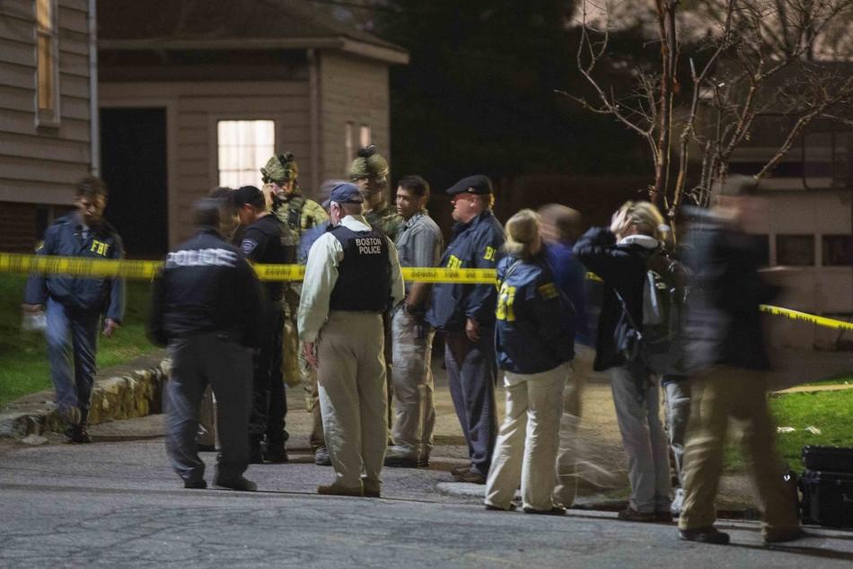 Boston bomber suspected captured