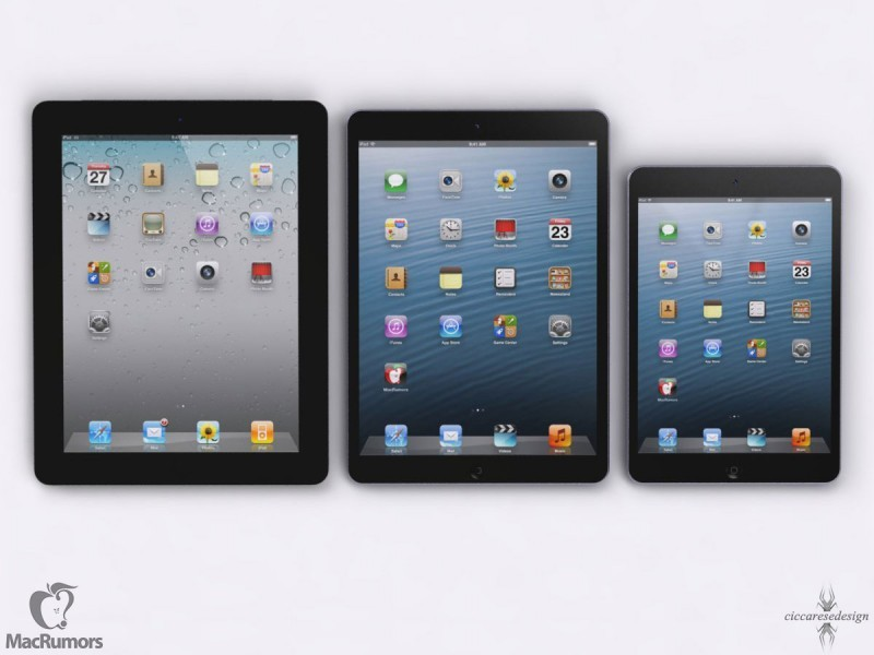 iPad 5 Will Be 15% Thinner, 25% Lighter Than iPad 4 and Runs on New A7X Processor