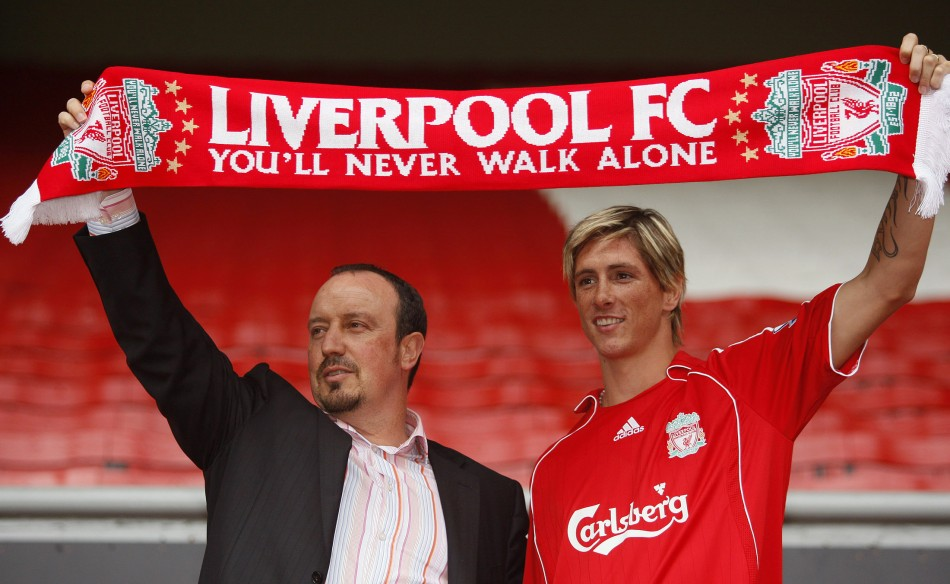 Benitez and Torres were fan favourites at Anfield once