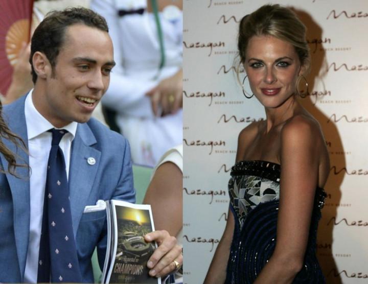 James Middleton dating Donna Air