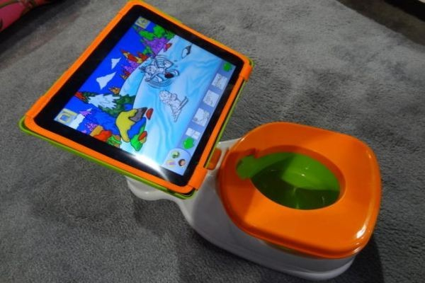 Too much too young? The iPotty from CTA Digital keeps kids occupied while they learn important skills