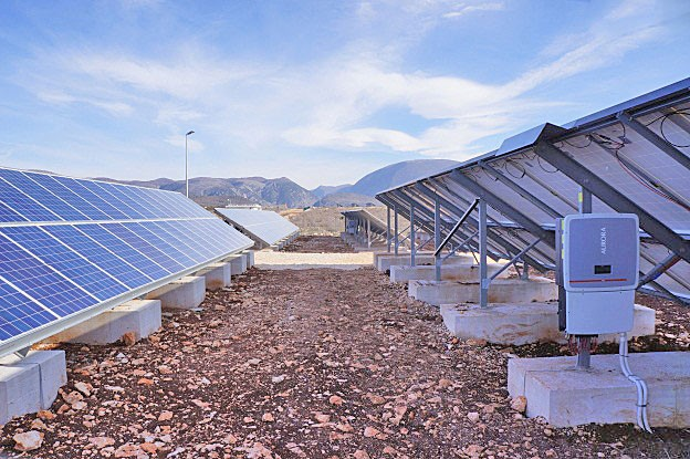 Solar panels with invertor
