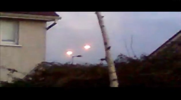 UFOs over County Cork in Ireland [Natkis Ireland/YouTube]