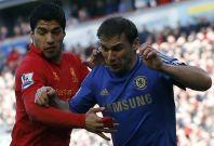 Luis Suarez bit Branislav Ivanovic on the arm