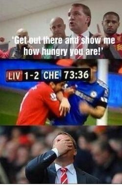Luis Suarez clearly misinterpreted the managers instructions. Something like this perhaps PlayersOnTheSuarezMenu