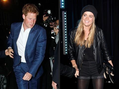 Prince Harry scares gf Cressida Bonas on marriage talks.