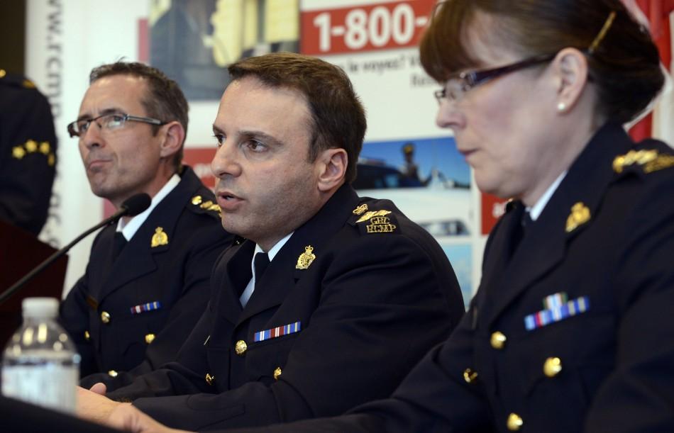 Canada train attack plot