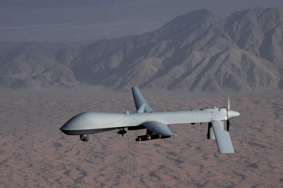 An MQ-1 Predator unmanned aircraft which has been used by the US military in Afghanistan and Turkey.