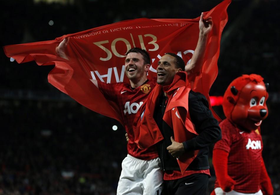 Rio Ferdinand & Michael Carrick