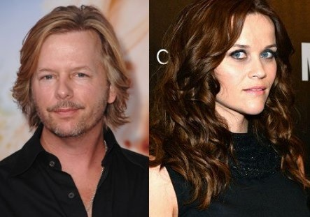 David Spade and Reese Witherspoon