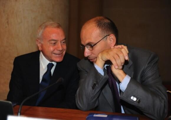 Enrico and Gianni Letta