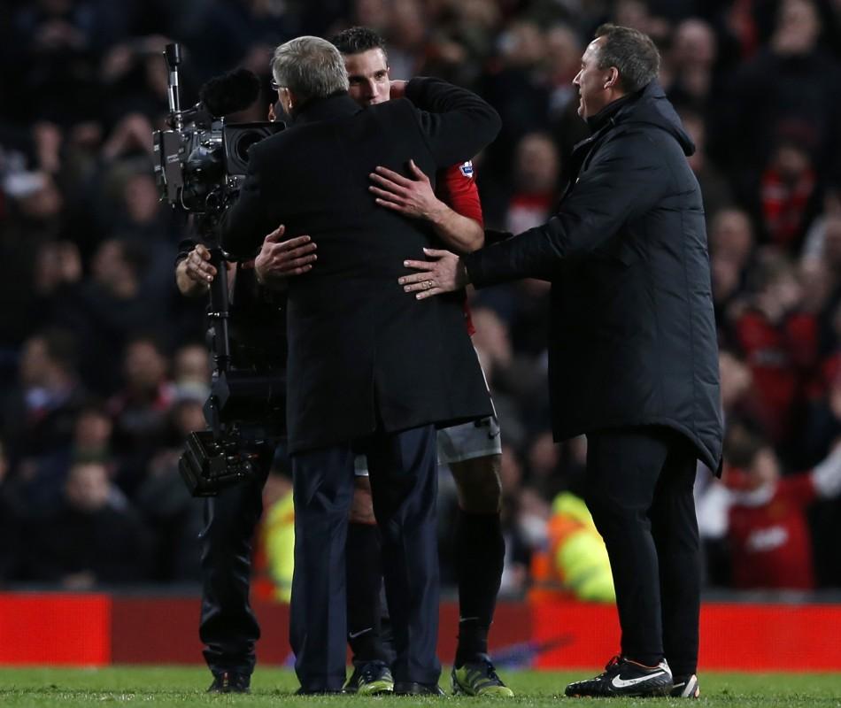 Ferguson and van Persie