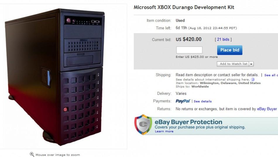 Xbox Durango development kit