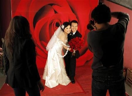 Chinese Wedding Photo