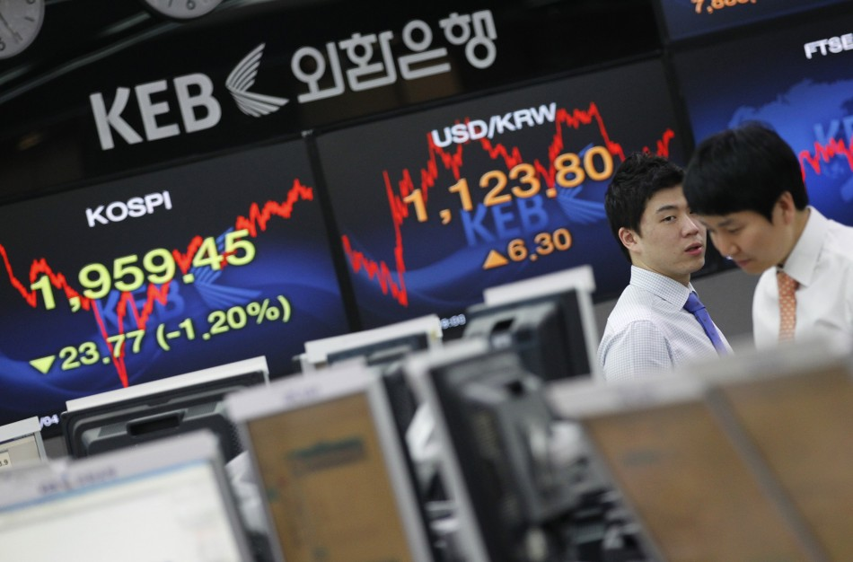 Korea leads Asian markets