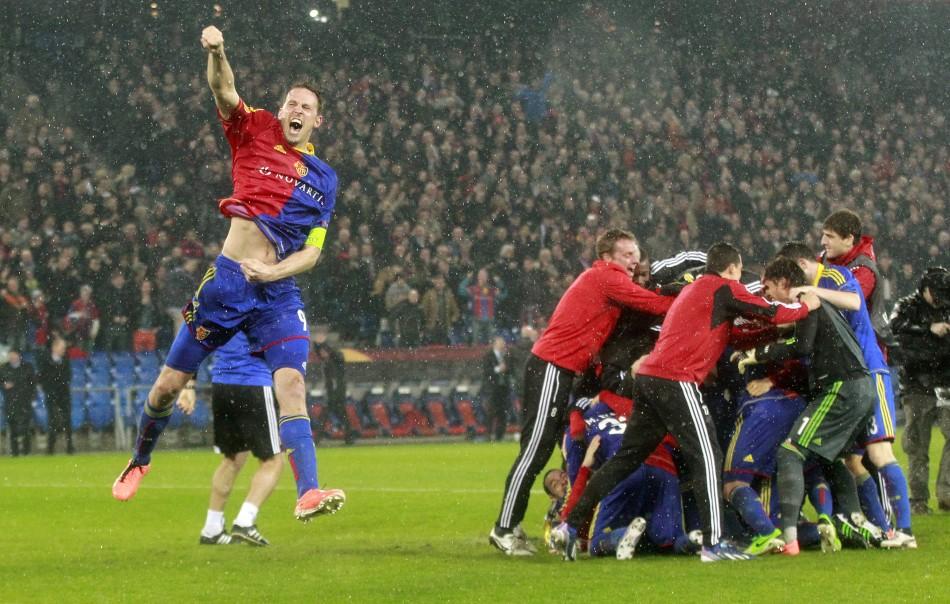 Basel v Tottenham