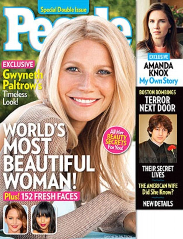 Gwyneth Paltrow named People's most beautiful woman
