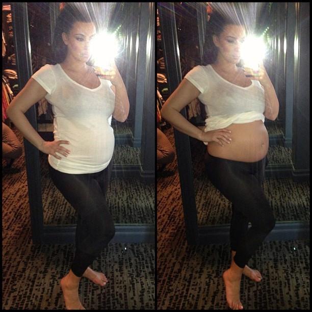 Kim Kardashian worried about body weight