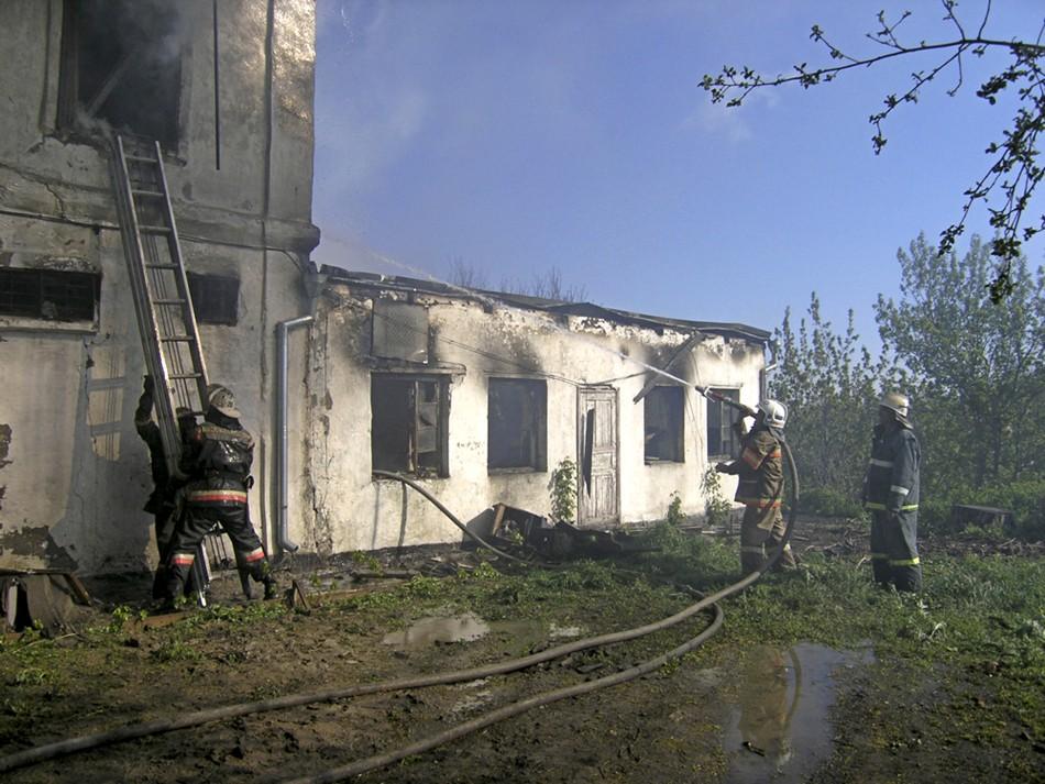 Russia hospital fire tragedy