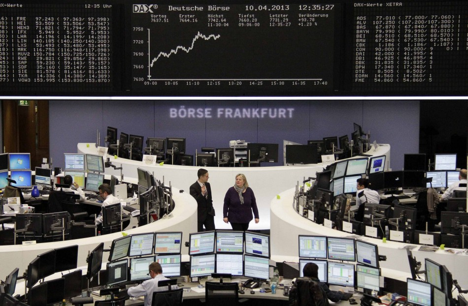 Frankfurt stock exchange