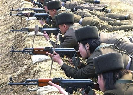 China Sends Troops to Border With North Korea