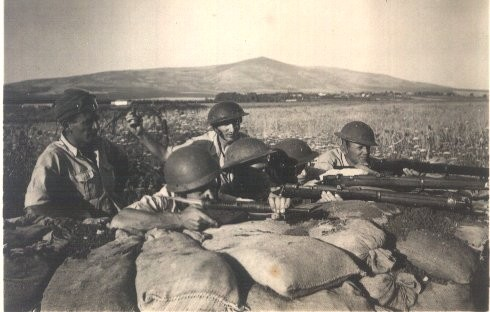 Israeli Soldiers in Independence War of 1948