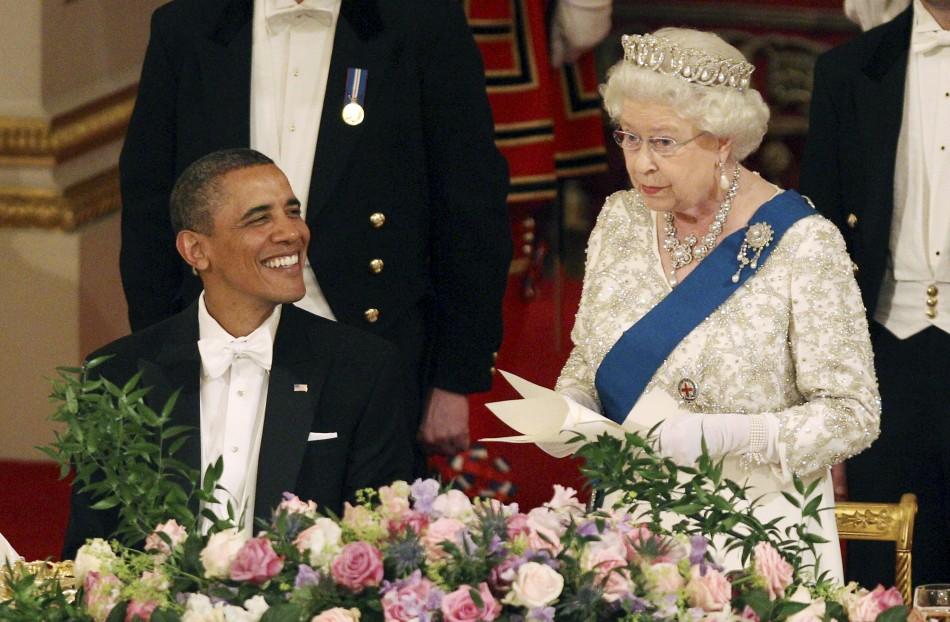 Queen Elizabeth Obama