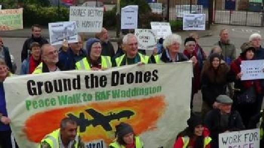 RAF Waddington protests