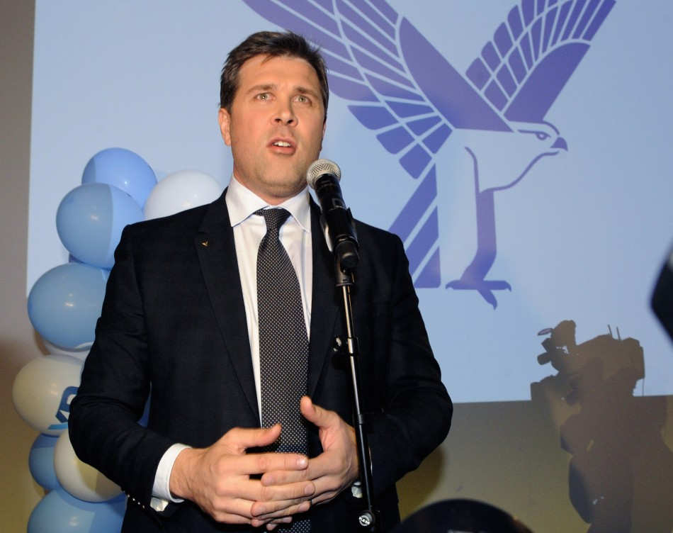 Bjarni Benediktosson, chairman of Iceland's Indepepndence party.