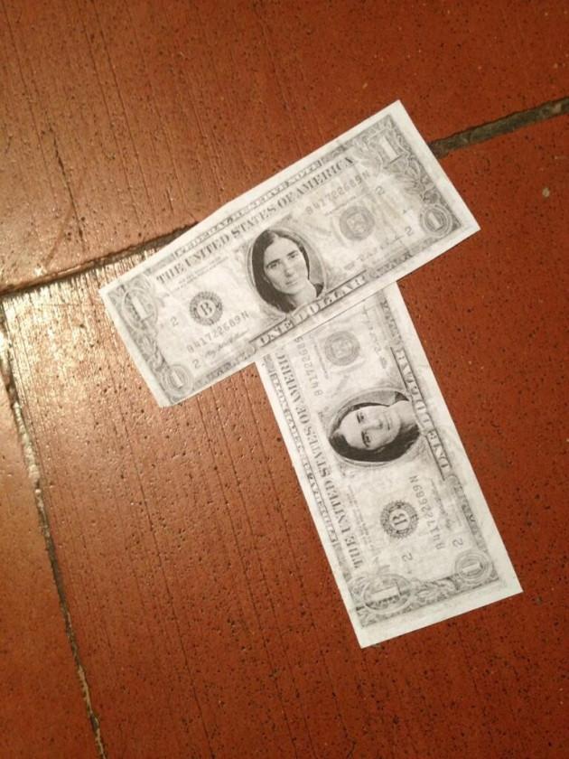 Fake dollars