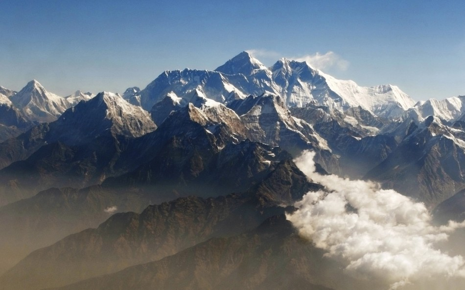 The 8,848-metre mountain is the tallest in the world (Reuters