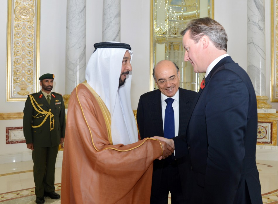 UAE president's visit to the UK