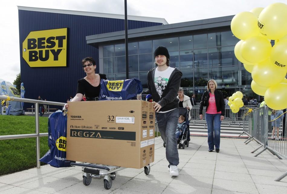 Best Buy Exits Europe