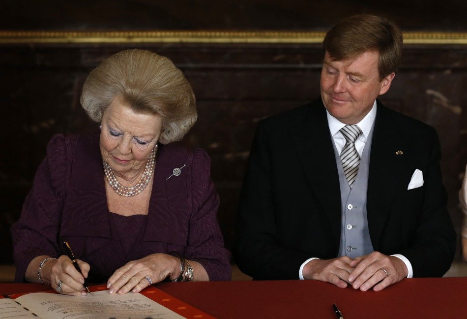 Queen Beatrix Abdicates Willem-Alexander