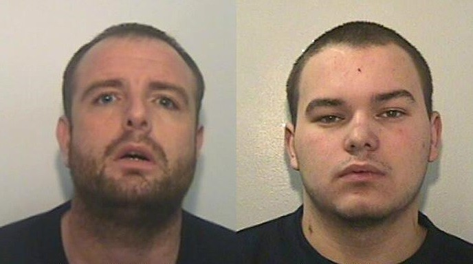 Police warned the public not to approach Stevie McMullen (L) and Ryan McDonald (GMP)