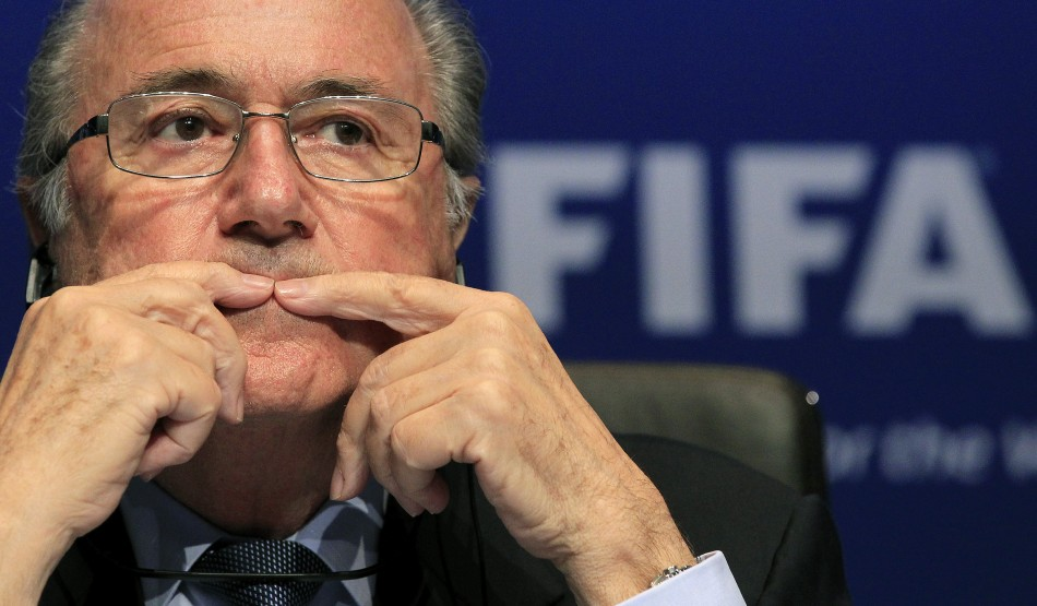 Sepp Blatter has admitted it was a mistake by FIFA to give the 2022 World Cup to Qatar