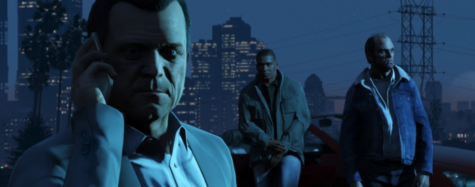 GTA V Michael Trevor and Franklin