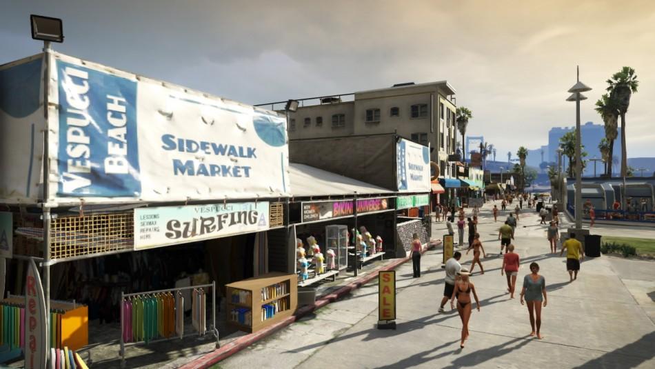 GTA V trailers Michael Franklin Trevor
