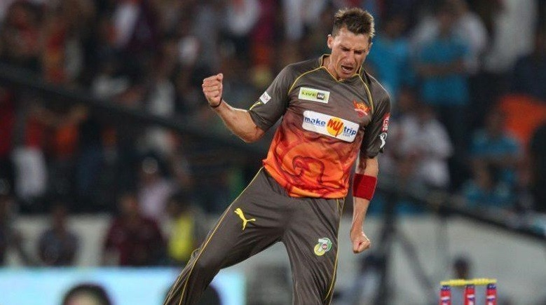 Dale Steyn of Sunrisers Hyderabad
