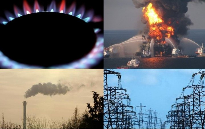 (L-R) Gas markets, safety in the Gulf of Mexico, carbon markets and the power industry have all experienced their own scandals. (Photos: Reuters)
