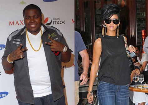 Sean Kingston and Rihanna