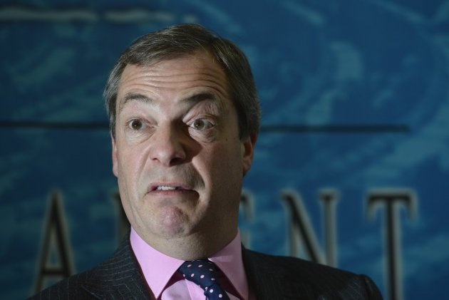 Nigel Farage on course to upset Tories at polls