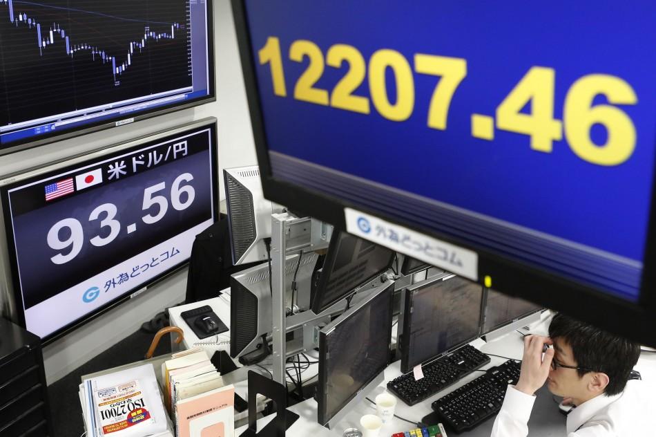 Nikkei share average