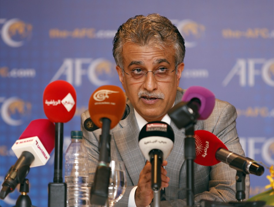 New Asian Football Confederation (AFC) President Sheikh Salman Bin Ebrahim Al Khalifa