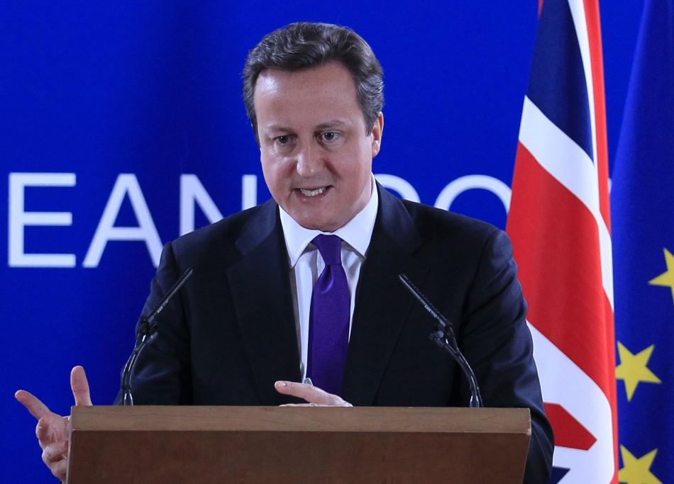 David Cameron EU UK