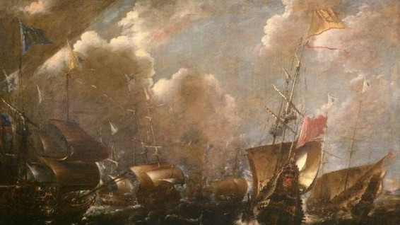 © Wikimedia commons Battle for Guetaria (1638), another painting by the Flemish painter.