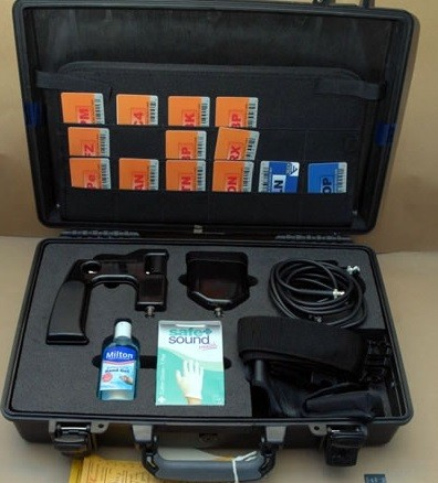 James McCormick's bomb detector kit