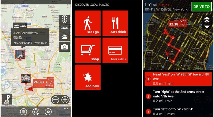 Windows Phone Apps gMaps Pro