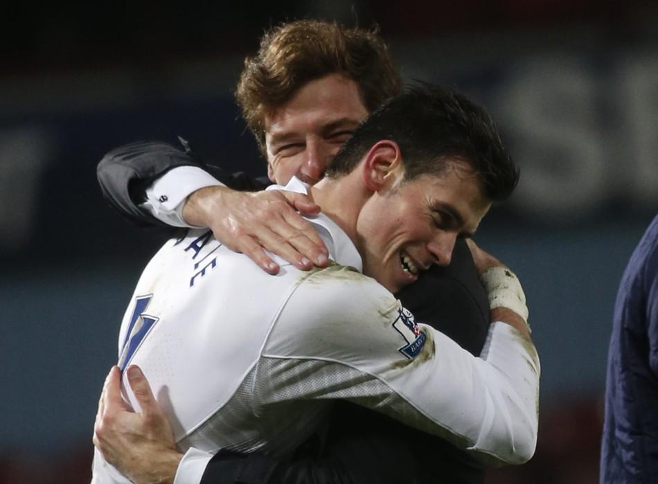 Andre Villas-Boas and Gareth Bale