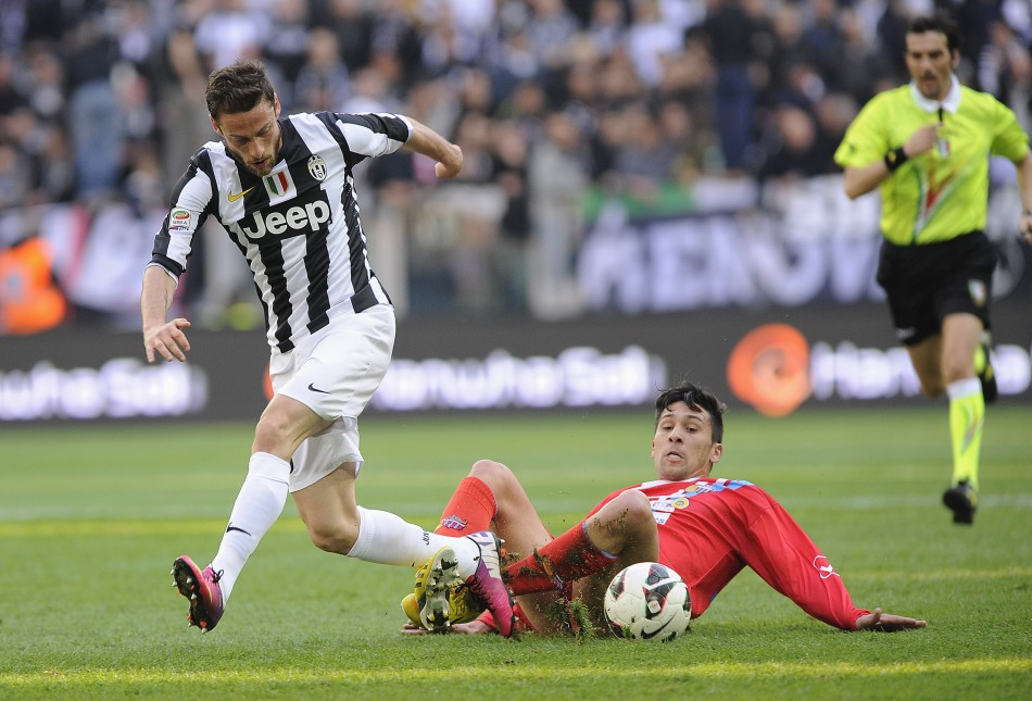Claudio Marchisio (L)